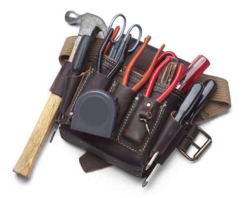Vendor Management; photo of tools.